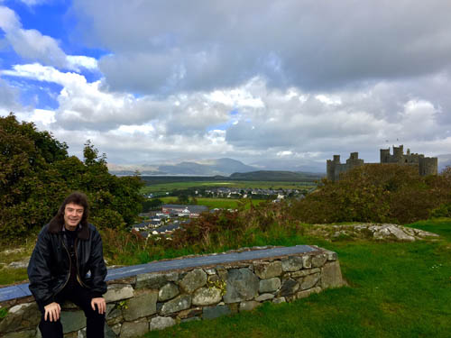 A brief break in Harlech