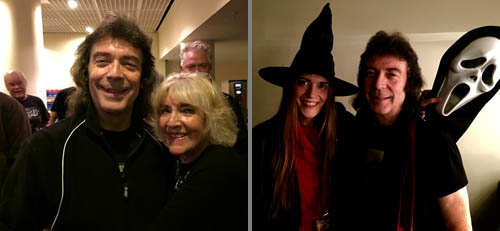 Steve and his mum June in Birmingham | Steve and Jo on Halloween in Southend