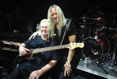 Chris Squire and Nick Beggs