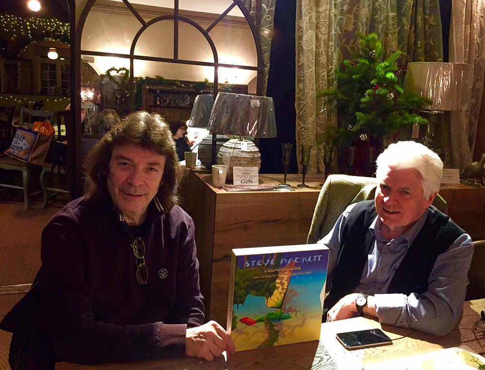 Meeting up with Roger Dean