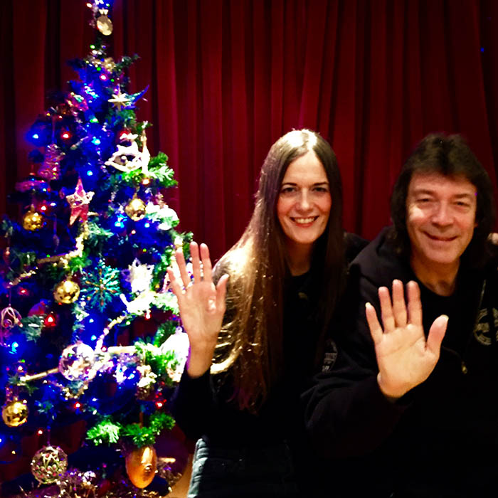 Seasons greetings from Steve and Jo!