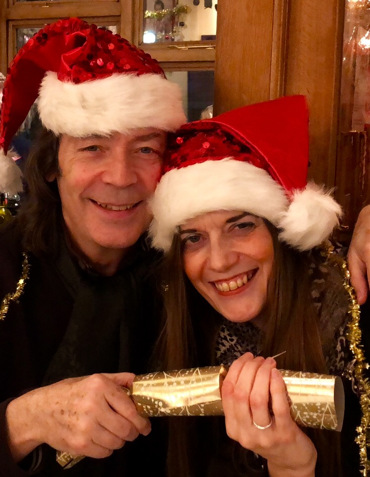 Season's greetings from Steve and Jo