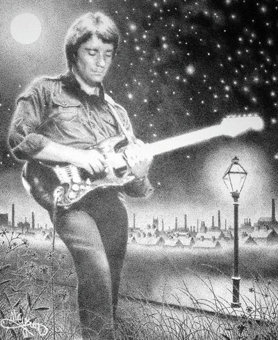 Steve Hackett artwork by Niall Young