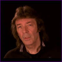 Steve Hackett - Black Thunder track interview video