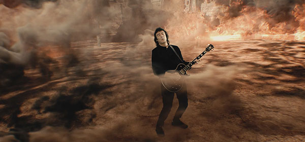 Steve Hackett official video - Behind the Smoke from The Night Siren
