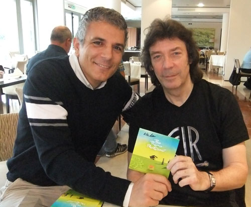Steve Hackett and Vincenzo Ricca