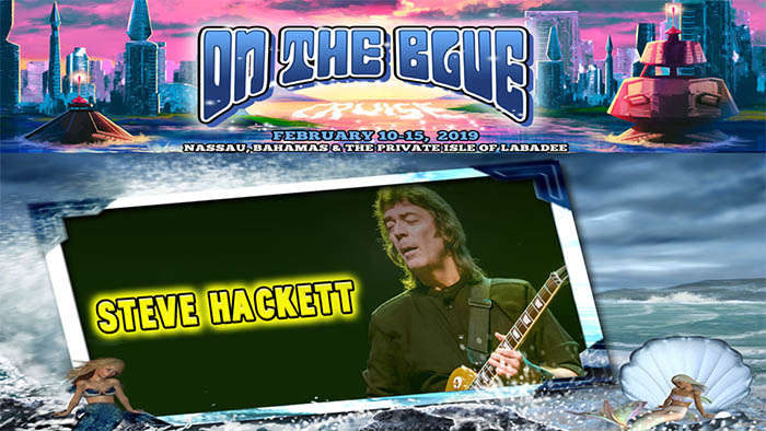 Sail with Steve Hackett - On The Blue Cruise