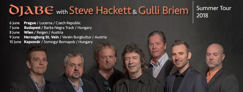 Steve Hackett and Djabe Tour 2018