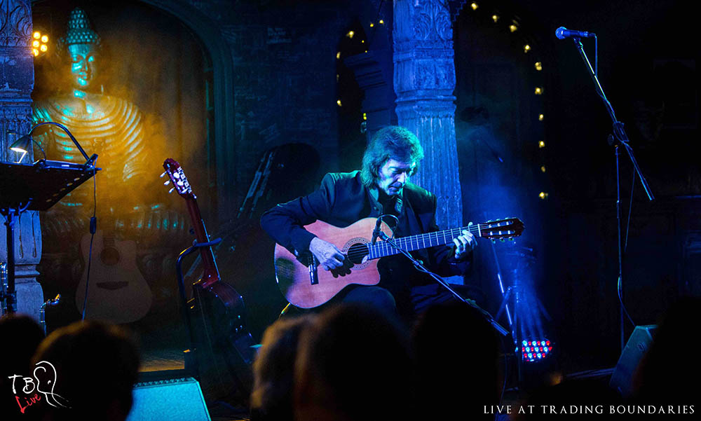 Steve Hackett Acoustic shows - Trading Boundaries, East Sussex - December 2019