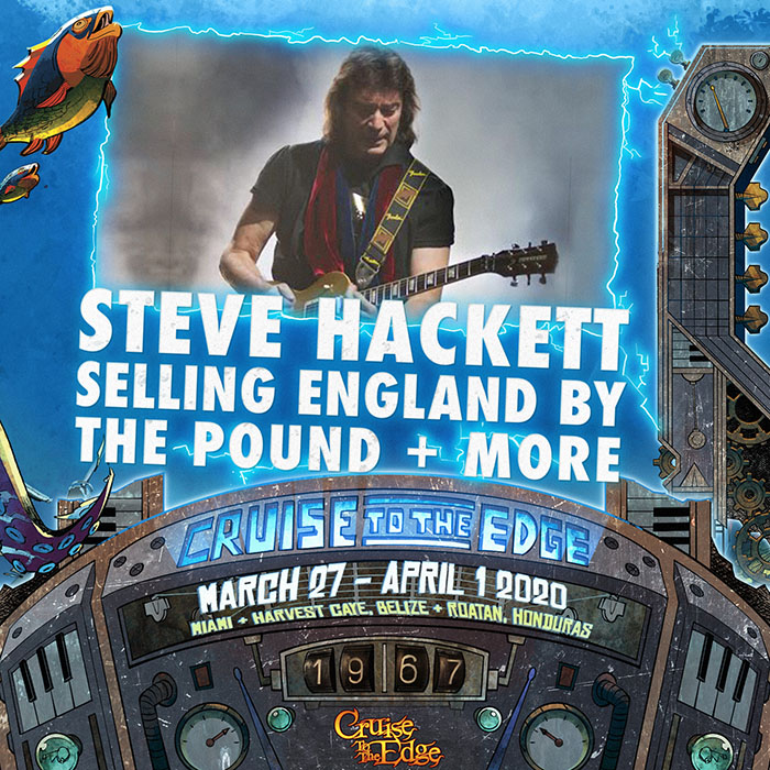 Sail with Steve Hackett - CRUISE TO THE EDGE